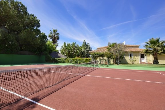 Luxury Villa Tennis Court